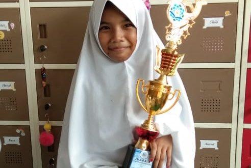 Selamat Buat Nashwa Juara Pidato Bahasa Inggris Sekolah Dasar Islam Terpadu Wahdah Islamiyah 01